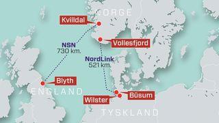 Kabelen er snart klar: Men nå vil ikke Tyskland ta imot strøm fra Norge