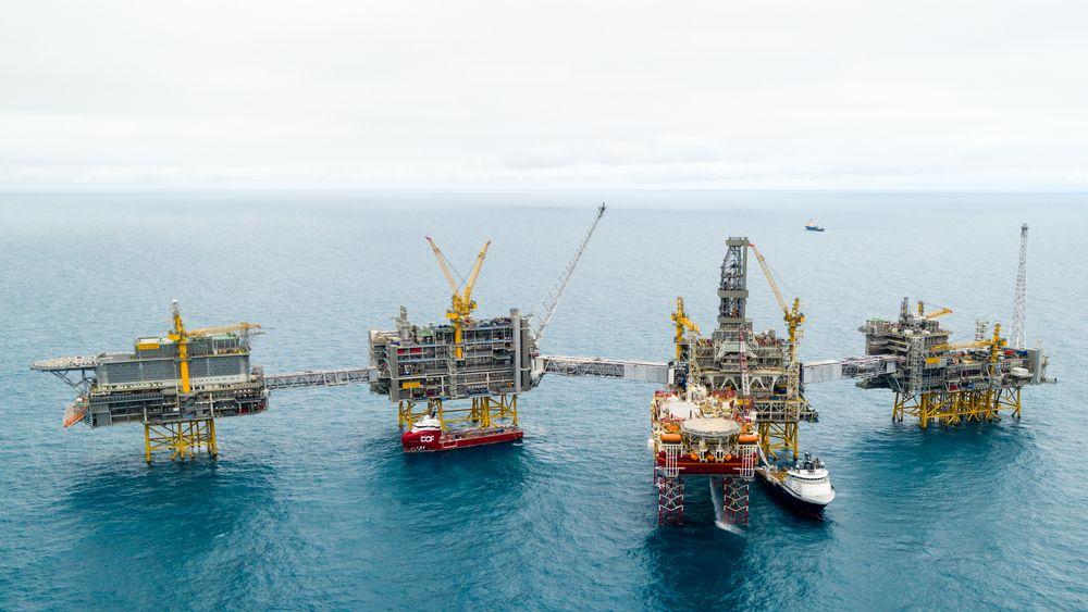 Johan Sverdrup-feltet i Nordsjøen. Om utviklingen fortsetter vil etterspørselen etter fossile energikilder øke med 10 prosent de neste ti årene, skriver professor emeritus Øystein Noreng.