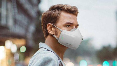 Henter inspirasjon fra luftrensere: Nå lanseres batteridrevet ansiktsmaske mot korona