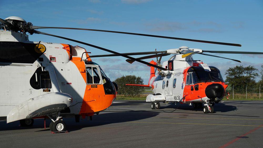 Norges nye redningshelikoptre AW101 Sar Queen tar over jobben etter Sea King.