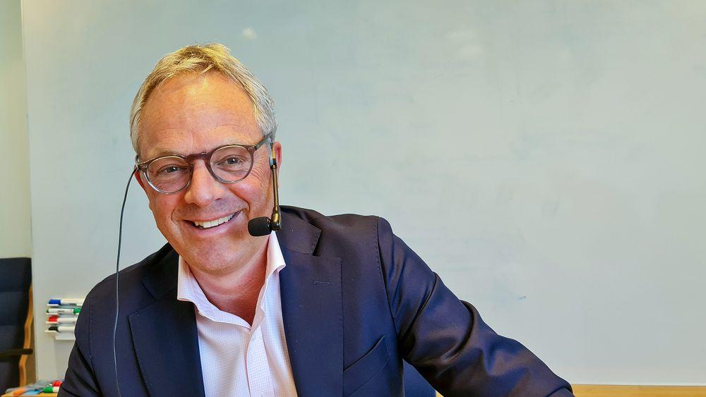 Øystein Eriksen Søreide leder Abelia som organiserer 2400 kunnskapsbedrifter med over 50.000 medlemmer.