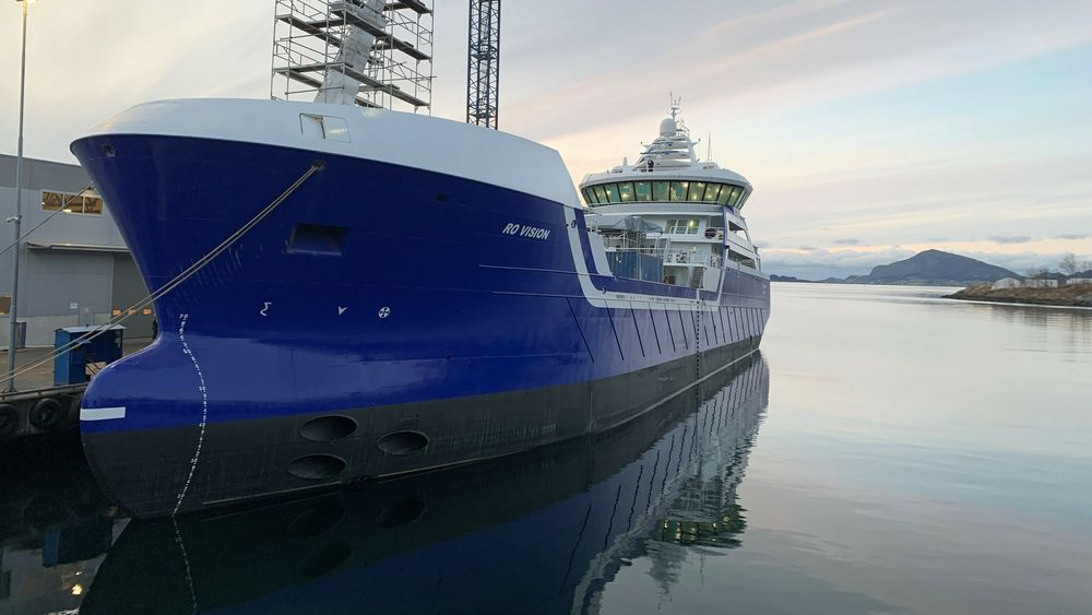 Ro Vision er kåret til årets skip.