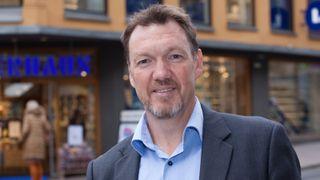 Teknologisjef Nils-Ove Gamlem i Check Point Norge