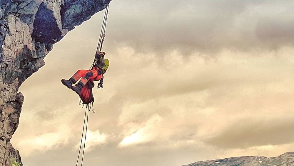 Luftige arbeidsdager for fjellsikrerne i Mesta.