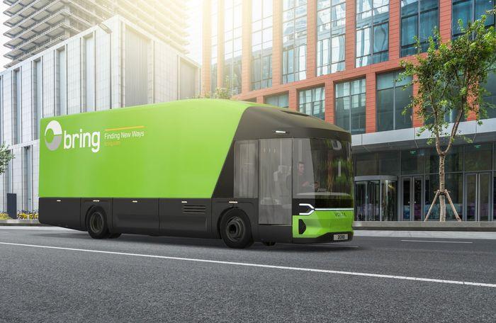 Posten og Bring står allerede på kundelisten, og skal teste ut Volta Zero fra neste år.