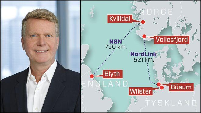 Tysk kabeleier om disputten med Norge:Vi gjør alt i vår makt for å utvide kraftnettet så raskt som mulig