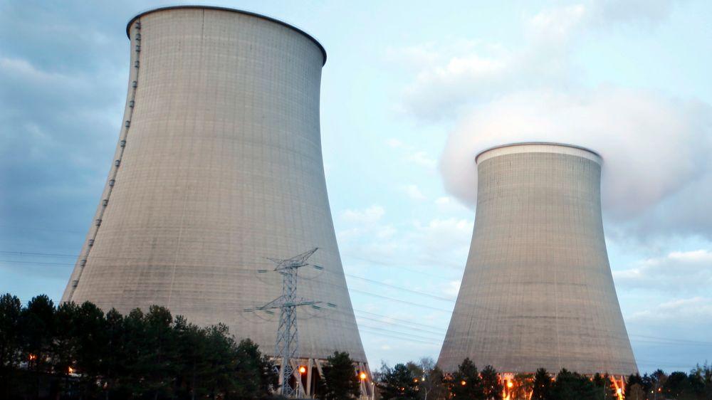 Et av EDFs mange kjernekraftverk i Frankrike, her i Nogent-Sur-Seine.
