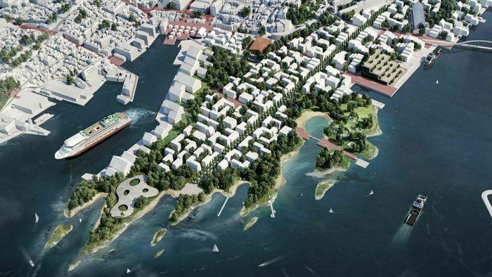 Dokken Bergen Ut mot havet Havbyen Asplan Viak Rune Skeie