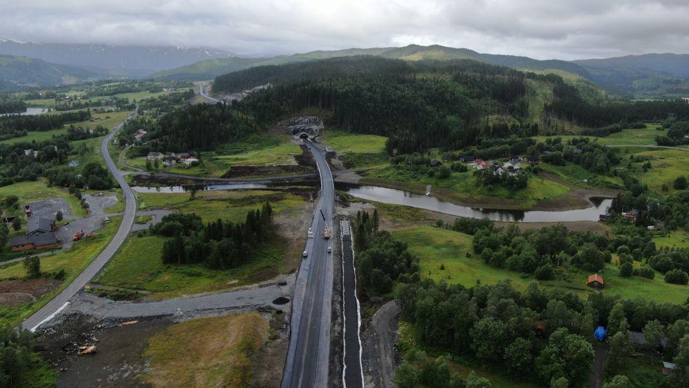 Nye E6 på Helgeland ble åpnet torsdag formiddag.