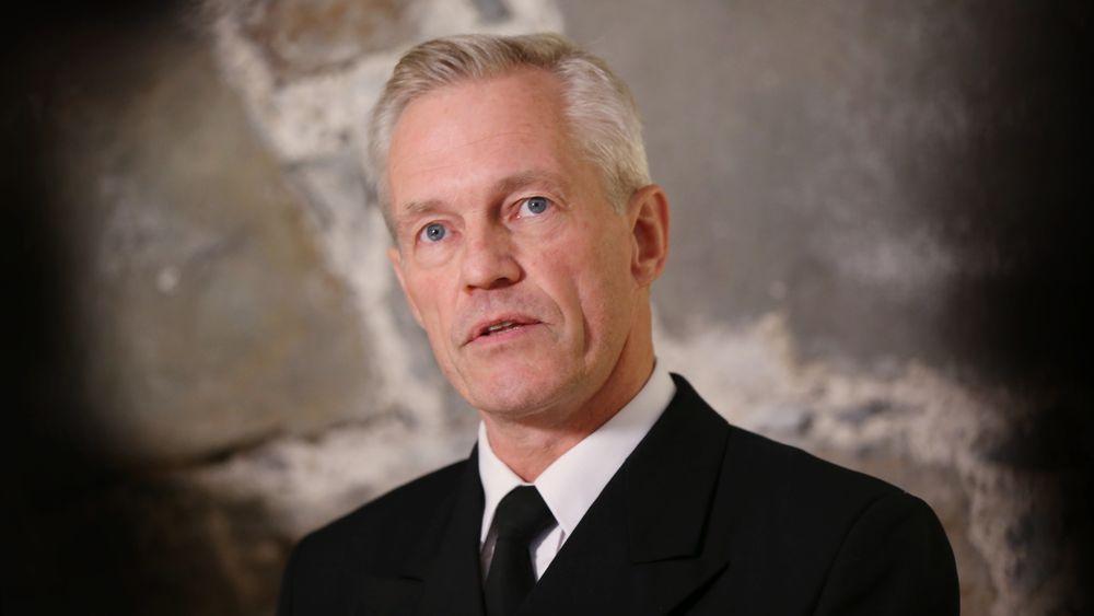 Nils Andreas Stensønes ble fredag utnevnt til sjef for Etterretningstjenesten.