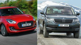 Mulighet for firehjulstrekk er fellesnevner for alle de mest solgte rene fossilbilene.