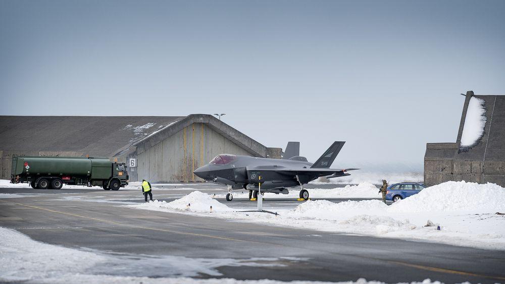 Luftforsvaret utførte luftkontroll på vegne av Nato på Island i mars 2020. Neste år skal 332 skvadron tilbake.