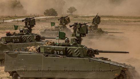 Hemmelig forlik: Forsvaret og Rheinmetall legger CV90-saken bak seg