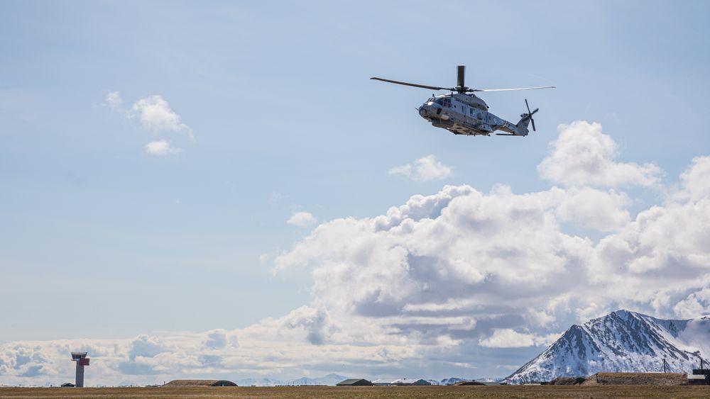NH90 over Andøya 19. mai 2020.