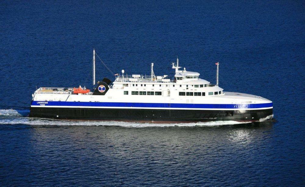 MF Landegode og de tre søsterfergene MF Værøy, MF Barøy, MF Lødingen tar 390 passasjerer, 120 biler  og 12 vogntog. De 93 meter lange fergene går på LNG (flytende gass) og ble bygget i Polen i 2012 for Torghatten Nord. De ble bygget for å settes inn på den værharde ruten Bodø - Værøy - Røst - Moskenes.