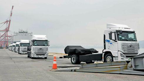 Eksperter: Hydrogen i lastebiler er blitt forbigått av batterier