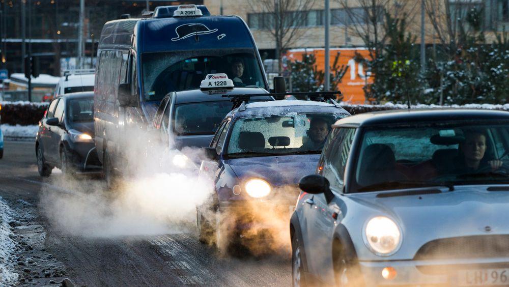 Luftforurensing er det miljøproblemet som i størst grad bidrar til sykdom.
