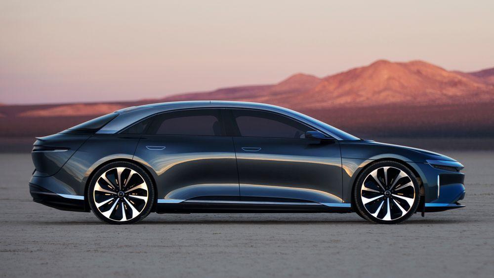 Med sin første bil, Lucid Air, mener den nye bilprodusenten at de har skapt noe det ikke finnes maken til i elbilverdenen.