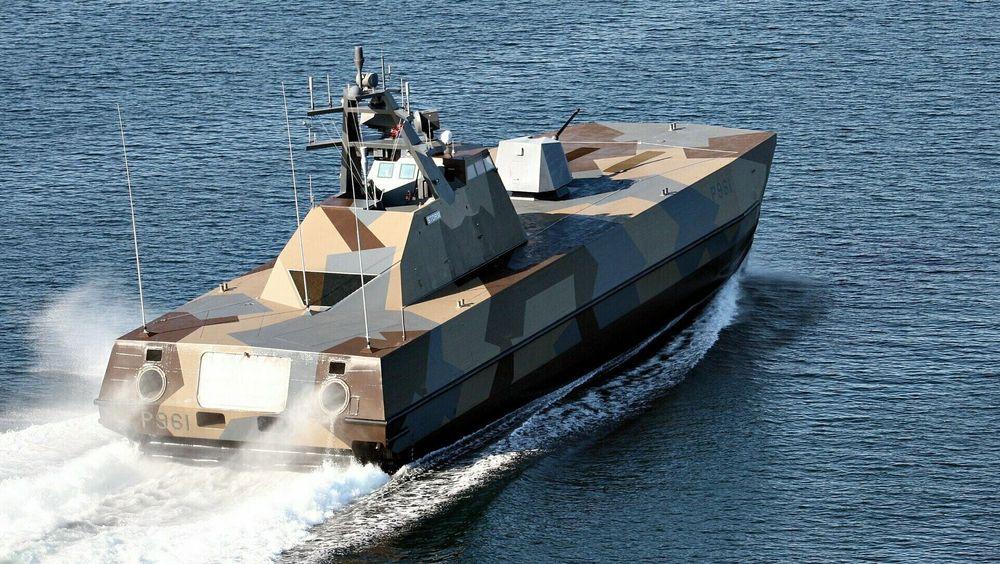 KNM Storm og de andre fem korvettene i Skjold-klassen skal nå oppgraderes på Umoe Mandal-verftet i samarbeid med Kongsberg Defence & Aerospace.