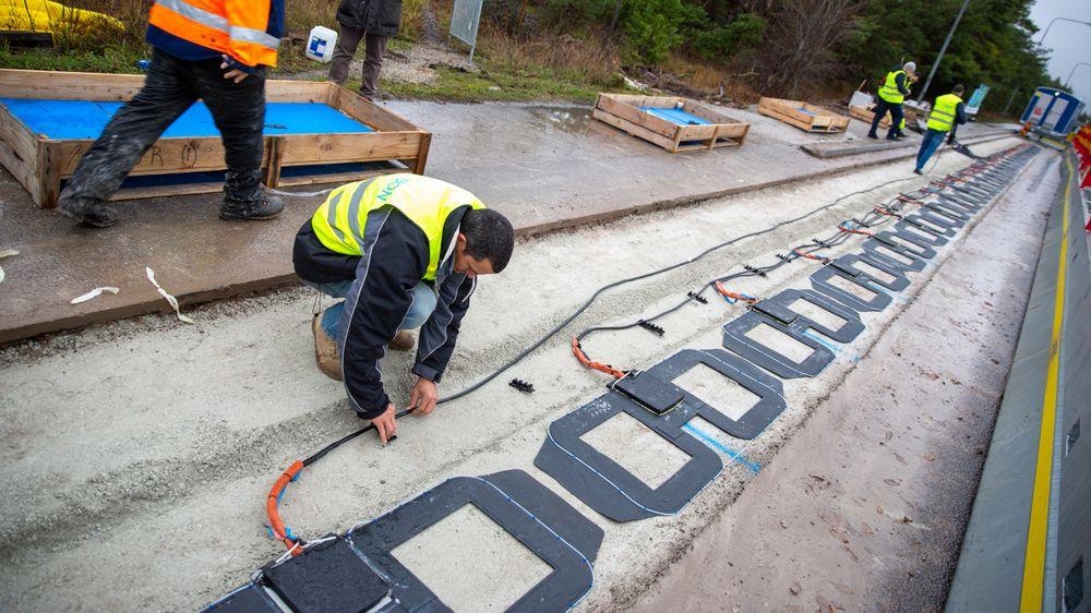 Den første veien med induktiv lading ble åpnet på Gotland tidligere i år, nå skal den samme teknologien testes på en offentlig vei i Tyskland.