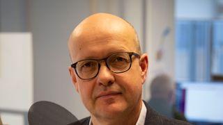 Simula-direktør og professor Olav Lysne, som har ledet arbeidet med å utvikle Smittestopp-appen.