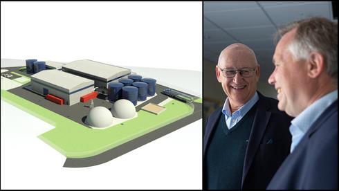 Går fra naturgass til biogass. Erstatter råtne-tanker med bioreaktorer utviklet på Ås