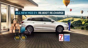 Slik presenteres bilen på MGs britiske nettsider.