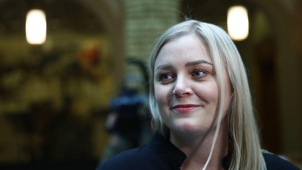 Olje- og energiminister Tina Bru fra Høyre ønsker å legge til rette for havvind i Norge.