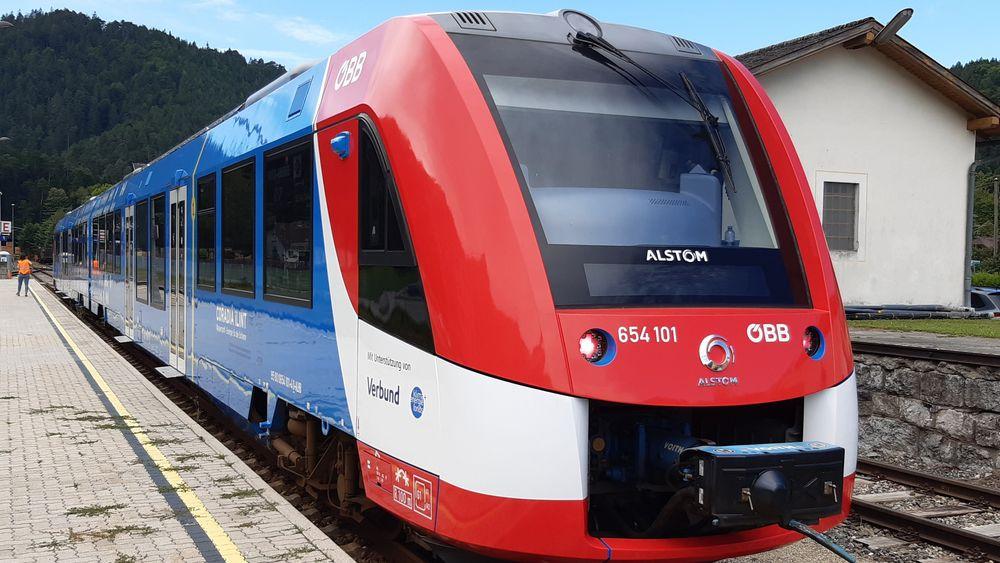 Hydrogentoget skal i første omgang testes fra september til november på en helt vanlig linje for persontransport i Wien.