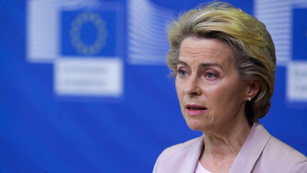 Ursula von der Leyen tar til orde for større klimakutt i det kommende tiåret enn det som har vært EUs mål hittil.