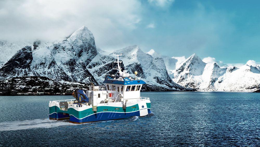 Moen Marin har utviklet den hybride arbeidsbåten NABCAT 1375 ELECTRIC. Den danner grunnlag for den hydrogen-elektriske arbeidsbåten.