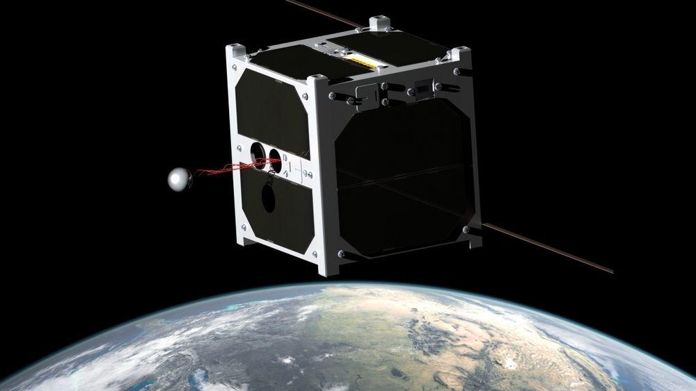 ESTCube-1 var den første estlandske satellitten. Den er av typen 1U CubeSat og veier ca 1 kilo. Det er en slik type Orbit NTNU foreslår å sende opp fra Andøya Spaceport.