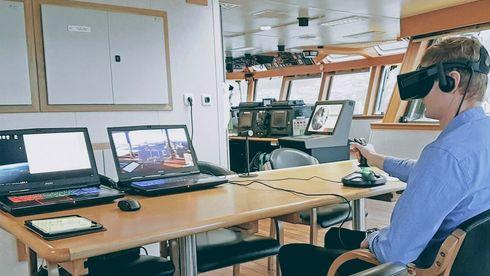 VR og PC erstatter store simulatorer