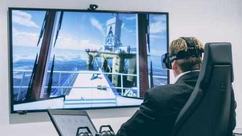 Ny generasjon simulator sparer tid og penger: Trenger kun PC, nett og VR-briller for å trene navigasjon