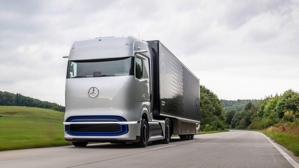 Mercedes-Benz GenH2 blir den første langtransportbilen fra Daimler Trucks på hydrogen.