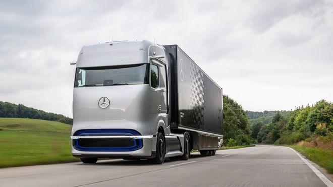 Første Mercedes hydrogenlastebil skal gå på flytende hydrogen