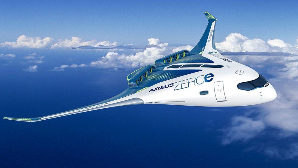 Airbus har lansert planer for hydrogendrevne fly. hydrogen som energibærer er langt i fra noen ny idé. Den første brenselscellen dukket opp allerede i 1839.