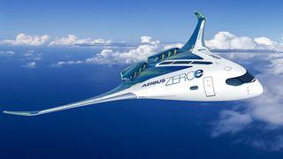 Airbus vil fly med hydrogen som drivstoff