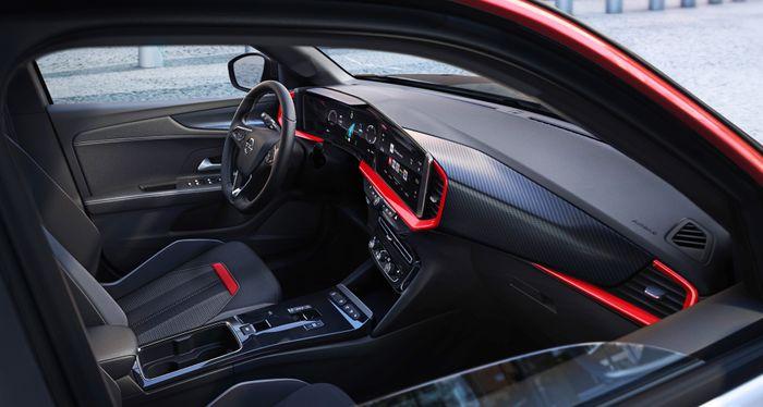Interiøret i bilen skal være umiskjennelig Opel.