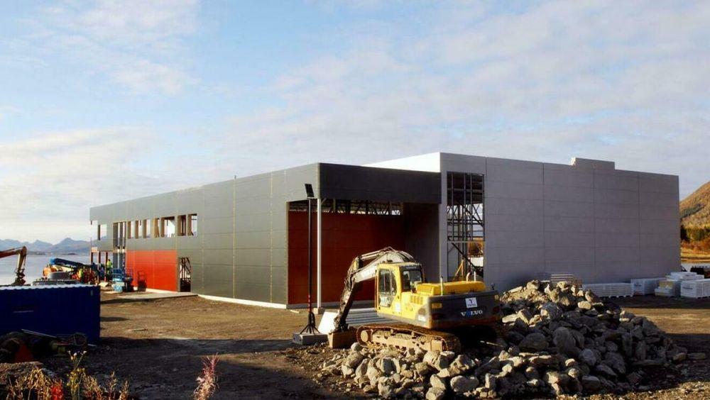 Den nye fabrikken på Sortland skal produsere kosttilskudd med raudåte-olje.