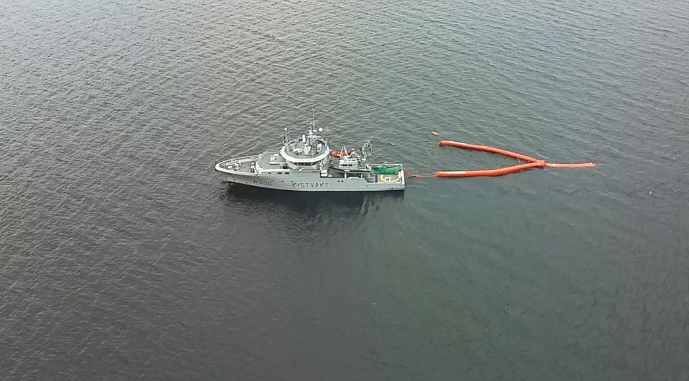 Oljevernøvelsen i Oslofjorden denne uken var siste test før den maritime bredbåndsradioen blir standard på alle oljevernfartøy.