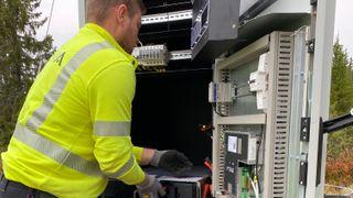 Norges største hytteområde skal teste batterier i nettet