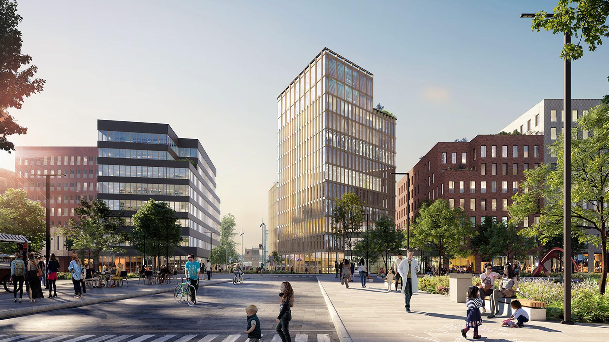 ANNONSE: Satser stort i Drammen