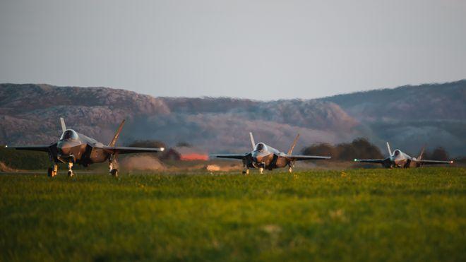 Norge har fått flere F-35: Ny skvadronsjef varsler mer flyging i Norge