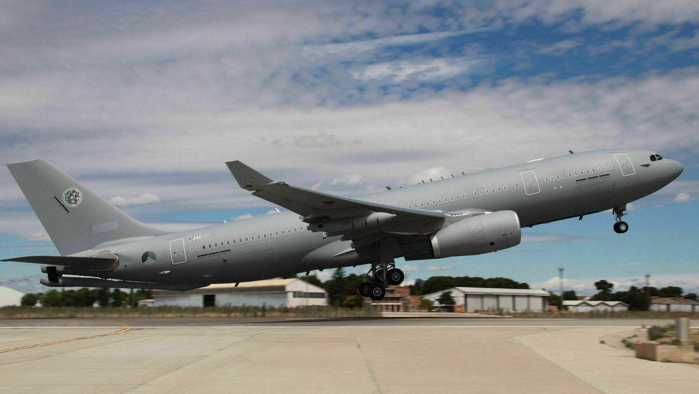 Det første av nå ni bestilte A330 MRTT til MMF ble levert fra Airbus i Getafe 30. juni i år.