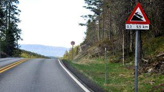 Vegvesenet anbefaler smal firefeltsvei i dagen på E134 mellom Kongsberg og Notodden
