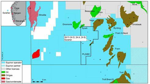 Equinor har gjort et oljefunn – i et av de mest modne og utbygde områdene på sokkelen