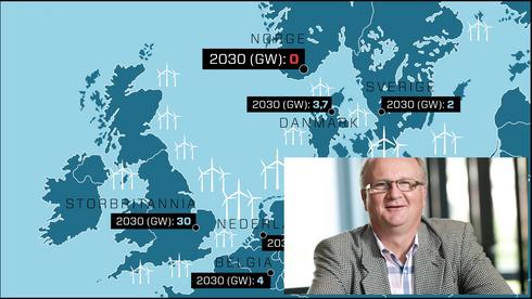 Frykter trøbbel for havvind og nye kabler: – Strømnettet på kontinentet er fullt