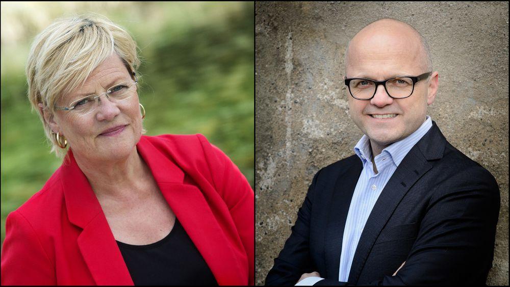 Cicero-direktør og tidligere finansminister og kunnskapsminister (SV) Kristin Halvorsen og tidligere klima- og miljøminister Vidar Helgesen har ledet Klimaomstillingsutvalget sammen.