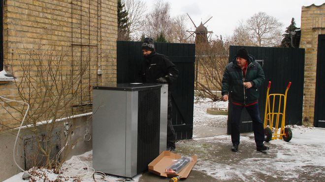 I Danmark kan man kjøpe varmepumpe som abonnement